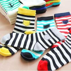 Cutesy Dream - Set of 5: Striped Socks