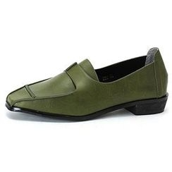 MODELSIS - Textured Faux-Leather Loafer