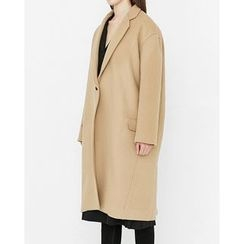 Someday, if - Single-Breasted Wool Blend Coat