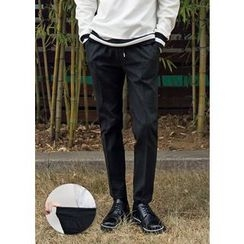 GERIO - Drawstring-Waist Tapered Pants
