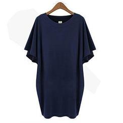 米蘭閣 - 中長款短袖裙衣
