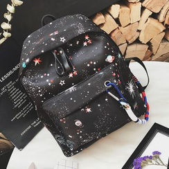 Coxchamp - Galaxy Print Backpack
