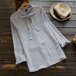 YOYO - 領結帶襯衫