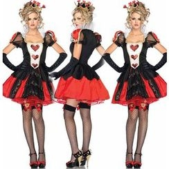 Hankikiss - Queen of Hearts Party Costume