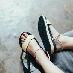 MIAOLV - 纯色凉鞋
