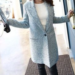OTTI - Single Button Woolen Coat
