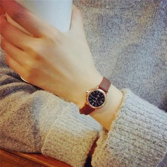 Honey Bee - Genuine Leather Strap Watch / Bracelet Watch