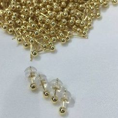 ViVi Pearl - Ball Stud Earrings