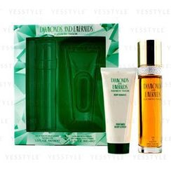 Elizabeth Taylor - Diamonds and Emeralds Coffret: Eau De Toilette Spray 100ml/3.3oz + Perfumed Body Lotion 100ml/3.3oz
