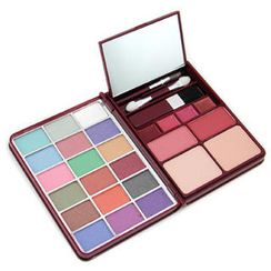 Cameleon - MakeUp Kit G0139-2 : 18x Eyeshadow, 2x Blusher, 2x Pressed Powder, 4x Lipgloss