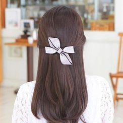 soo n soo - Rhinestone Ribbon Hair Pin