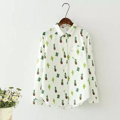Moricode - Cactus Print Shirt