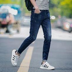 Danjieshi - Semi Elastic Jeans