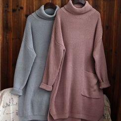 tete - 高領長毛衣