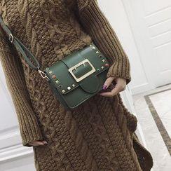 Rosanna Bags - Studded Buckled Crossbody Bag