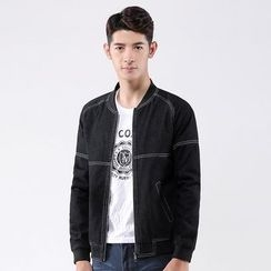 Bingham - Denim Bomber Jacket