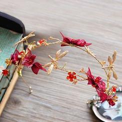 Ashmi - Bridal Flower Hair Band