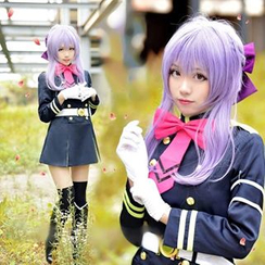 Ghost Cos Wigs - Seraph of the End Hiiragi Shinoa Cosplay Costume