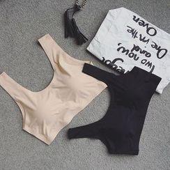 Eva Fashion - 纯色文胸