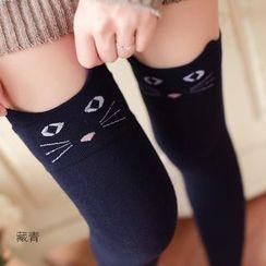 Hyoty - Cat Knee Socks