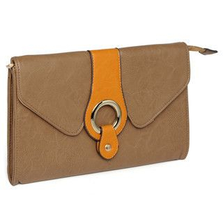 yeswalker - Buckle-Accent Clutch