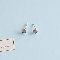 Love Generation - Leaf Non-Matching Stud Earrings