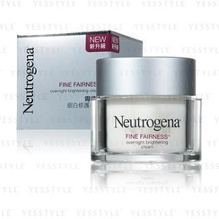 Neutrogena - Fine Fairness Overnight Brightening Cream