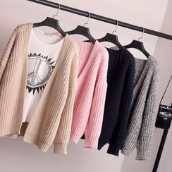 Knitemps - Chunky-Knit Cardigan
