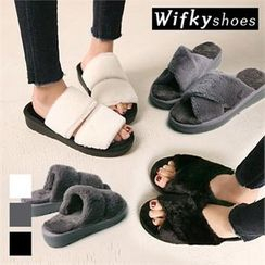 Wifky - Faux-Fur Mules (2 Designs)