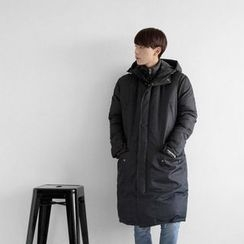 Seoul Homme - Hooded Padded Jacket