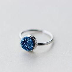 A'ROCH - 925 Sterling Silver Rhinestone Ring