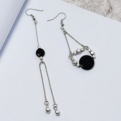 Wind Valley - Non Matching Drop Earrings