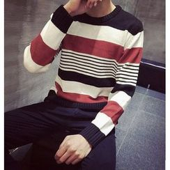 Fisen - Color-Block Sweater