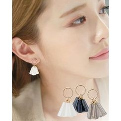 Miss21 Korea - Bead Dangle Earrings