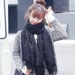LS.SPRING - 缀饰围巾