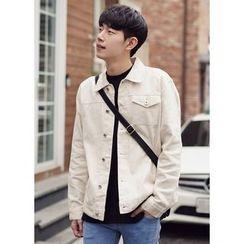 JOGUNSHOP - Cotton Buttoned Jacket
