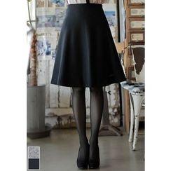 MyFiona - Wool Blend Flare Skirt