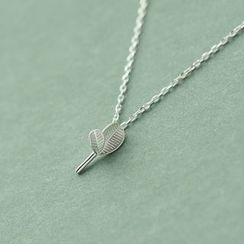 Love Generation - Plant Sterling Silver Necklace