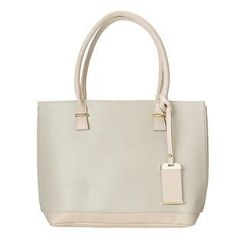 ans - Two-Tone Panel Tote
