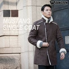 DANGOON - High-Neck Faux-Shearling Jacket