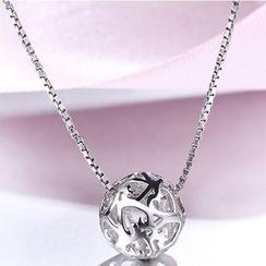 Zundiao - 925銀鏤空項鍊