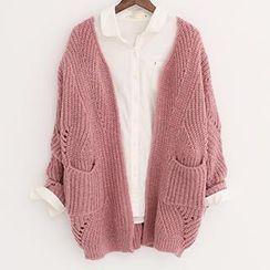 Qimi - 粗织开衫