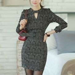 Aurora - Pattern Sheath Dress