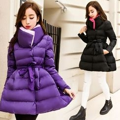Rosemax - Plain A-Line Padded Jacket