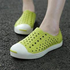 Easy Steps - Perforated Aqua Shoes