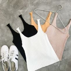 MATO - Ribbed Knit Tank Top