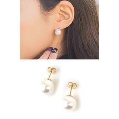migunstyle - Faux-Pearl Earrings