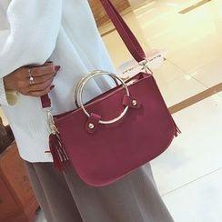 Youshine - Tasseled Shoulder Bag