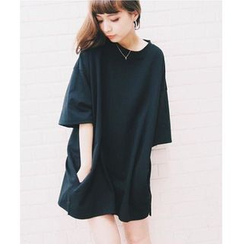 Pluvio - Plain 3/4 Sleeve Tunic