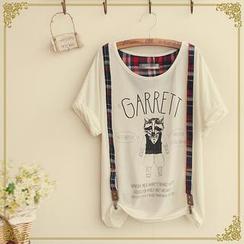 Fairyland - Print Suspender T-Shirt